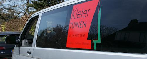 Contact met Kleter Tuinen